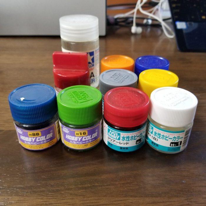 プラモ用水性塗料